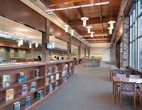 Porter Branch Libary, photo copyright Fred Gerlich
